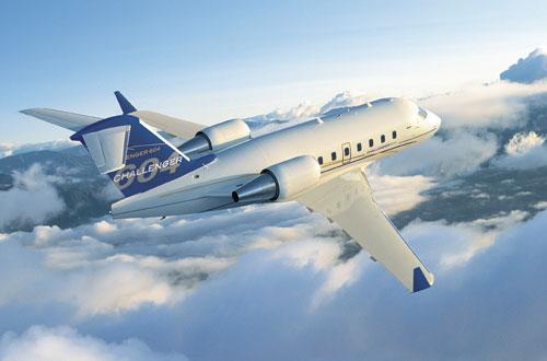 Bombardier-Challenger-604-Exterior