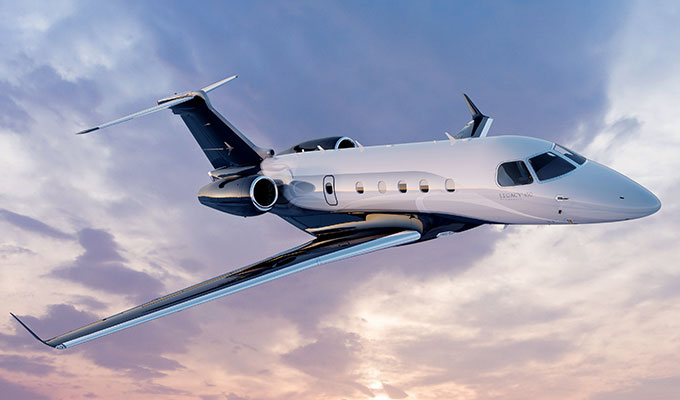 Legacy 450 In-Flight Technology